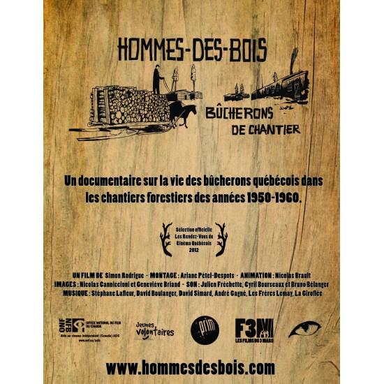 DVD Hommes-des-Bois (Bûcherons de chantier)