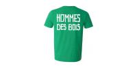 T-shirt Haches/Hommes-des-Bois