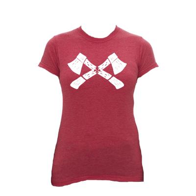 T-shirt Haches/Femmes-des-Bois